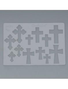 Schablone Quickart Kreuz1