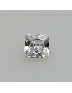 Zirkonia weiss quadrat 5x5