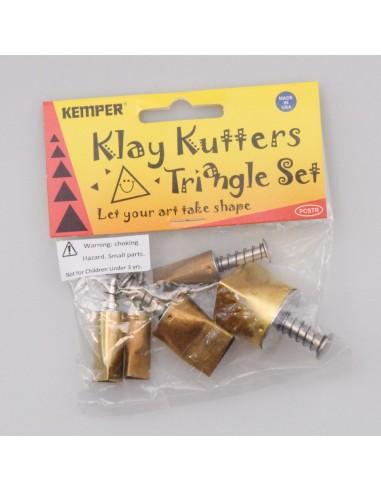 Klay Cutter Dreieck-Set