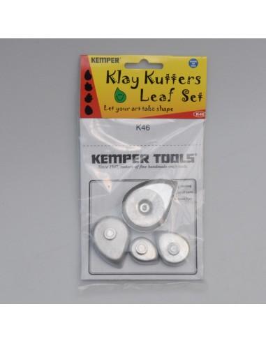 Klay Cutter Blätter-Set