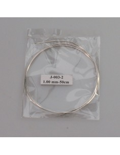Feinsilberdraht 999, 1.0mm, 50mm