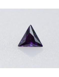 Zirkonia amethyst dreieck 4x4