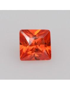 Zirkonia orange carre 4x4