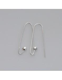 Ohrhaken modern mit Herz