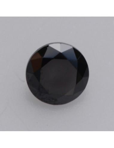 Zirkonia schwarz rund 2.0