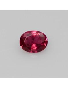 Rubin oval 10x8, synth.