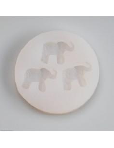 Silikonform 3 Elefanten