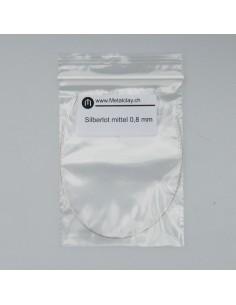 Silberlot mittel 0.8mm