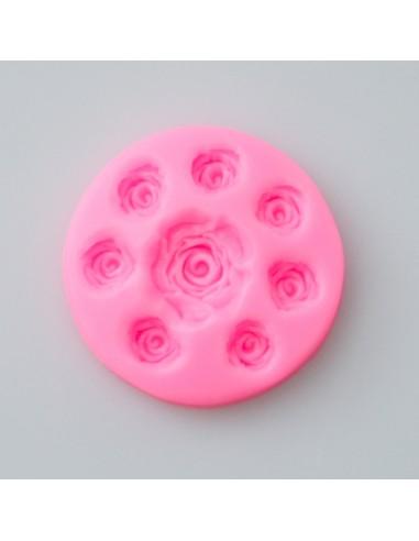 Silikonform Rosen mini