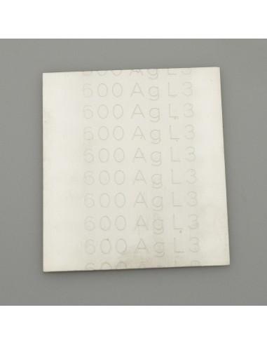 Silberlot-Platte weich, 10g