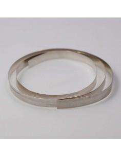 Flachdraht Feinsilber 6 mm
