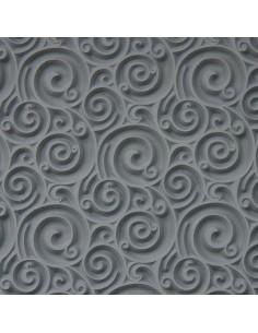 Textur Curly Spirals