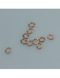 Bronze Oesen 6x4mm